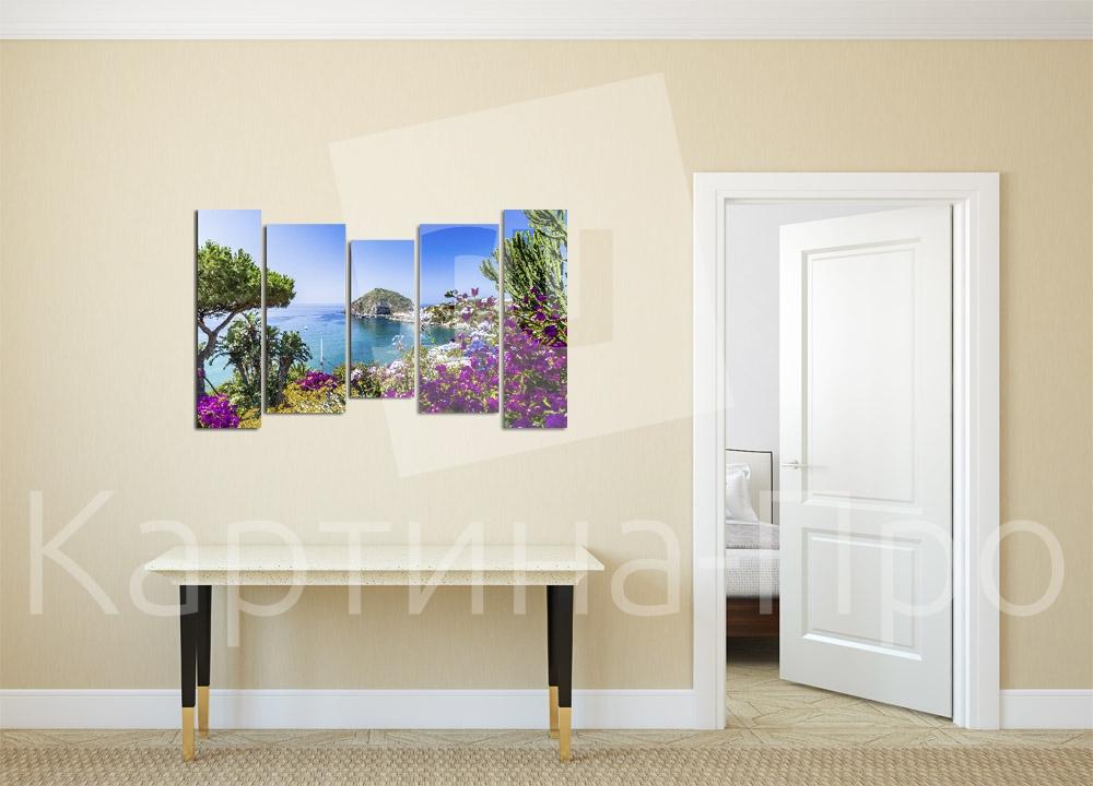 Модульная картина На острове Искья (Италия) от Kartina-Pro