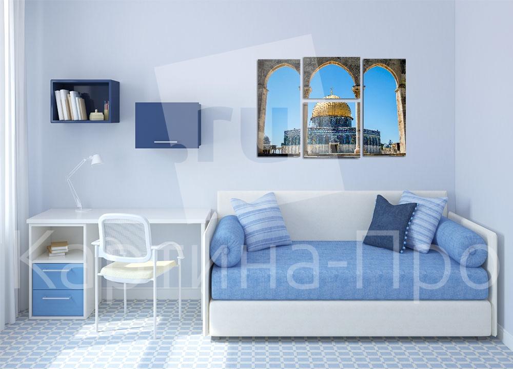 Модульная картина Мечеть в Иерусалиме (Израиль) от Kartina-Pro