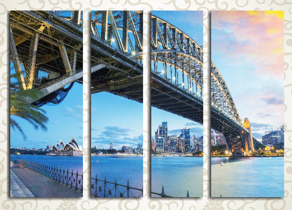 Модульная картина Мост в Сиднее. Австралия
