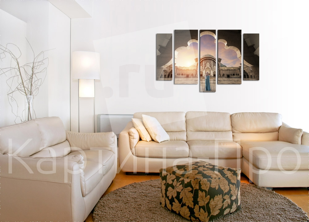 Модульная картина Мусульманка от Kartina-Pro