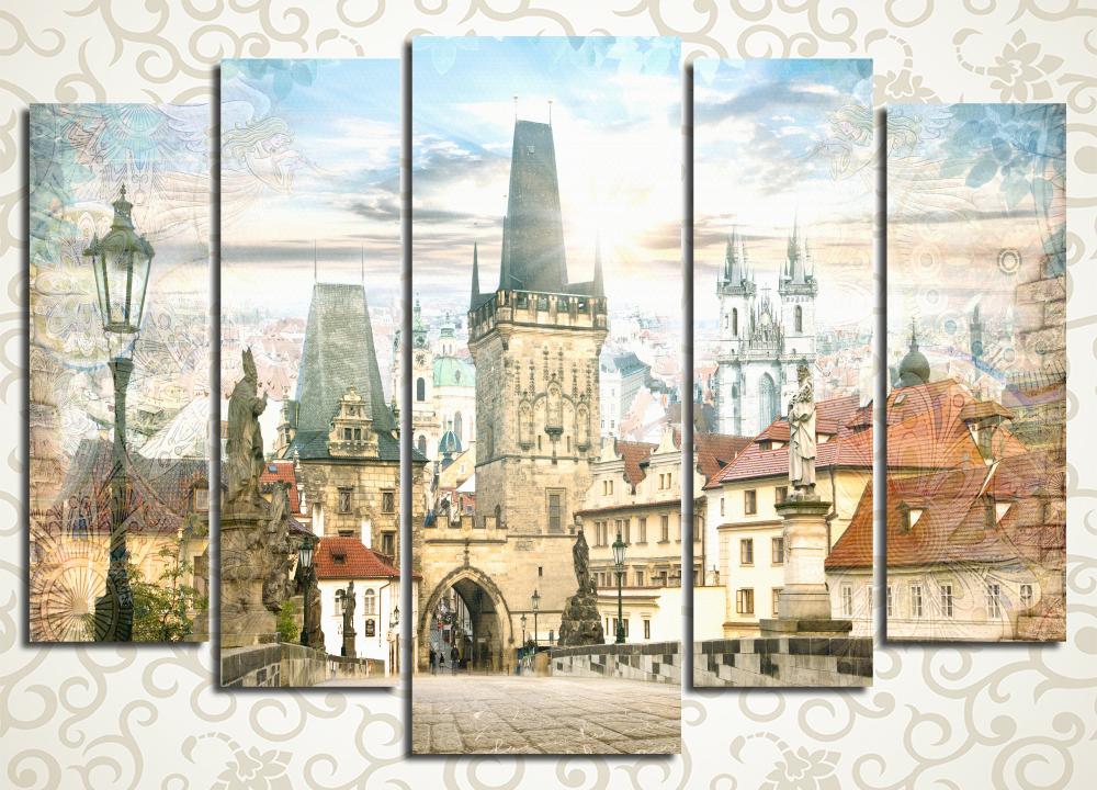 Модульная картина Сказочная Прага (Чехия)