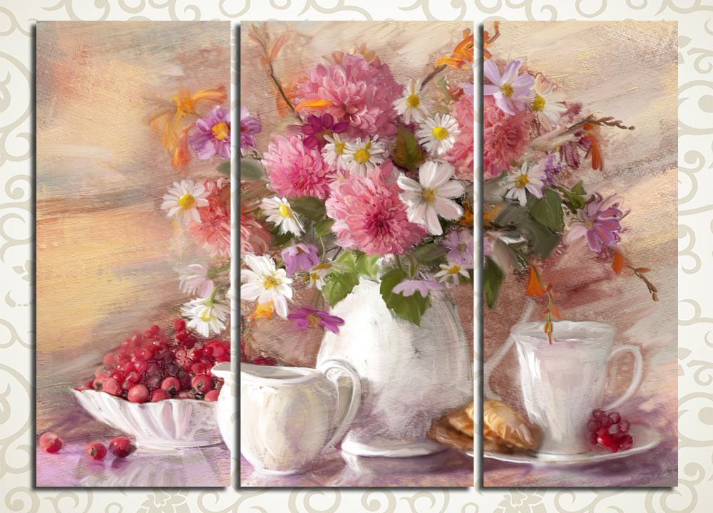 Модульная картина Летнее чаепитие