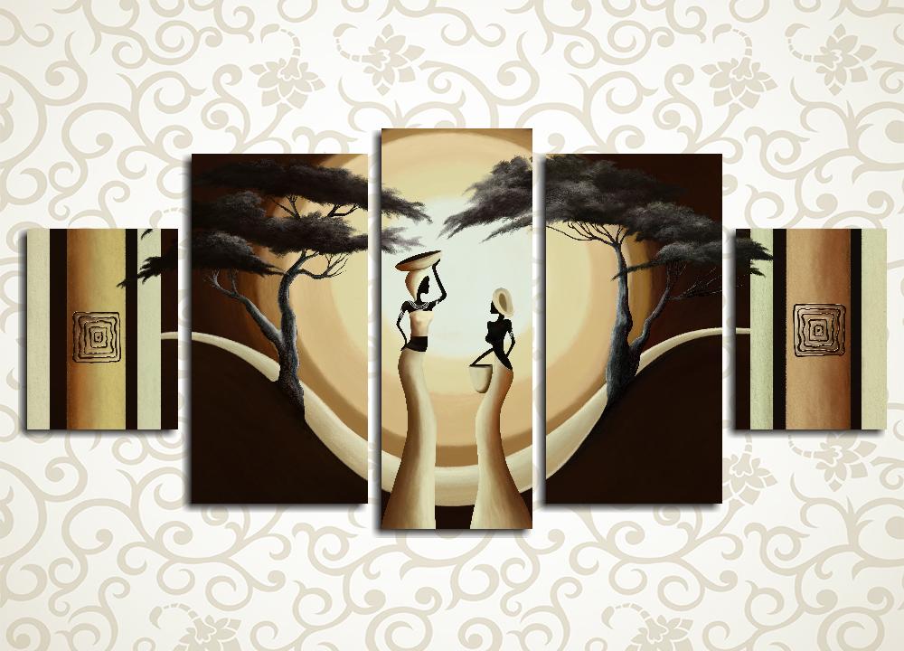 Модульная картина Два силуэта