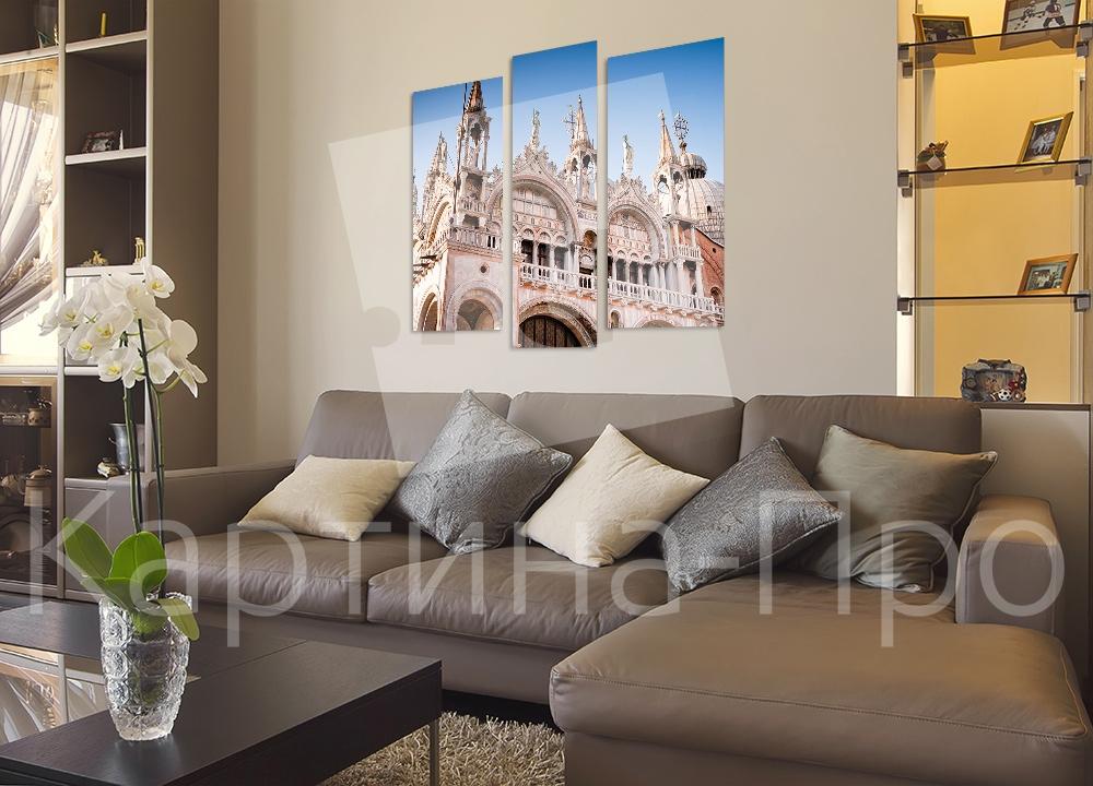 Модульная картина Собор Святого Марка. Венеция (Италия) от Kartina-Pro