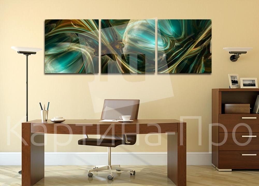 Модульная картина Загадочные волны от Kartina-Pro