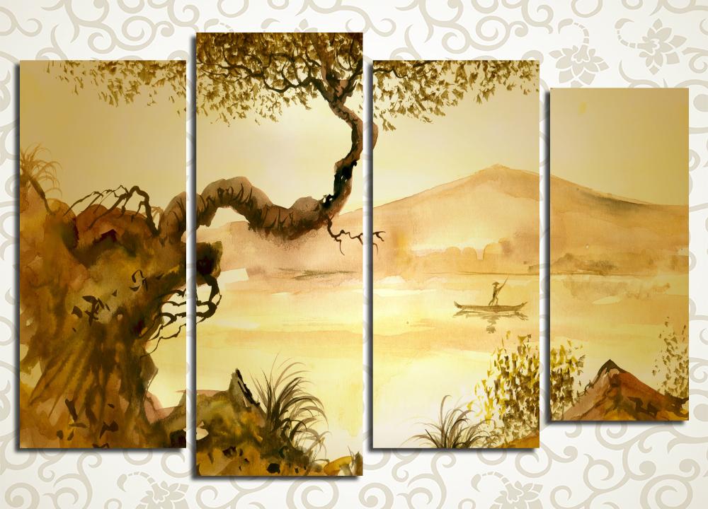 Модульная картина Китайский пейзаж