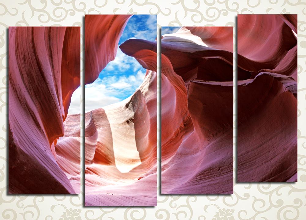 Модульная картина Загадочные скалы