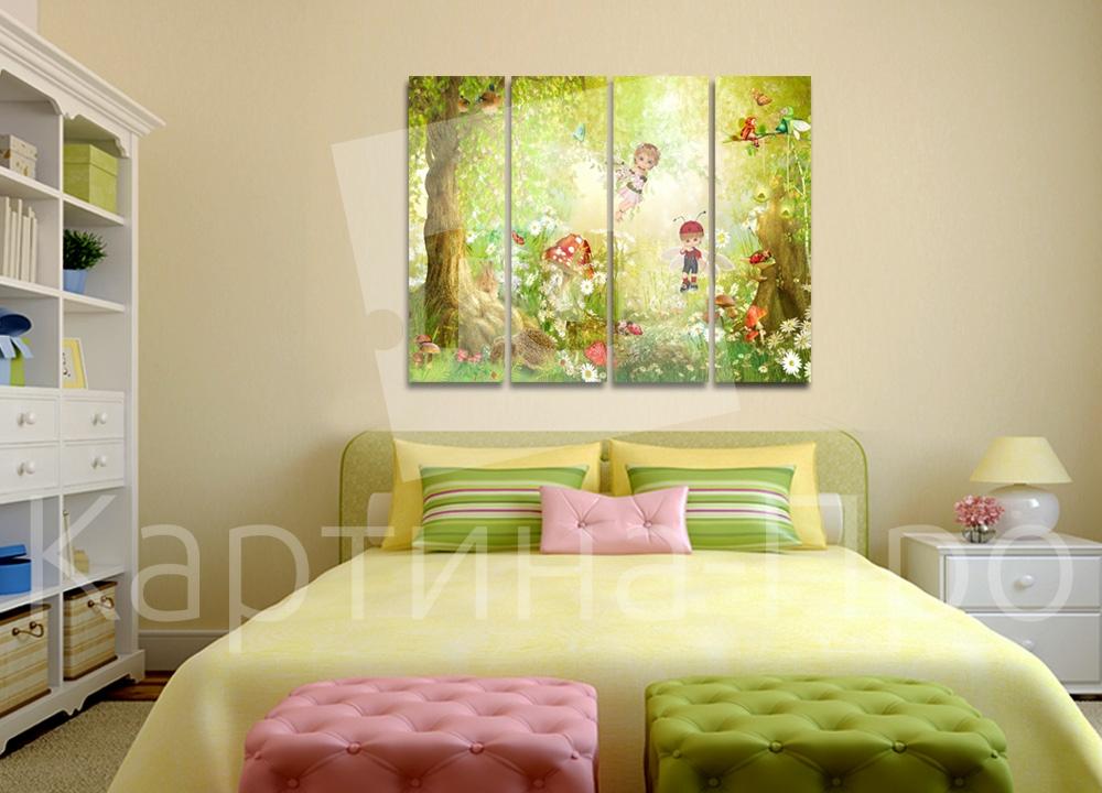 Модульная картина Сказочный лес от Kartina-Pro