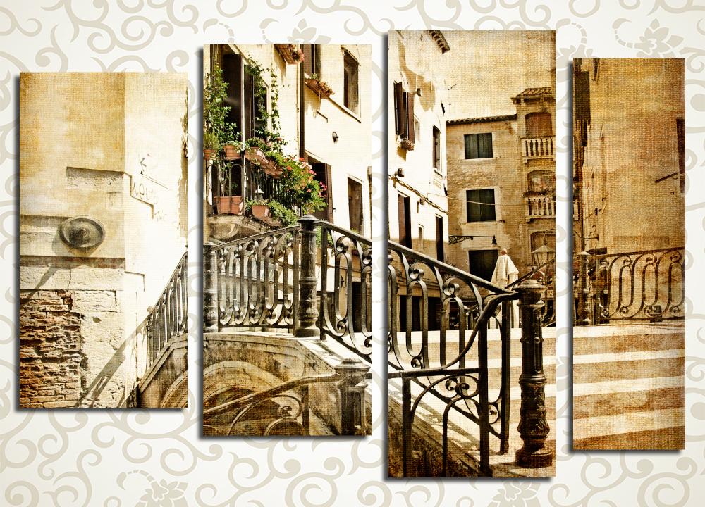 Модульная картина Старая Венеция (Италия)