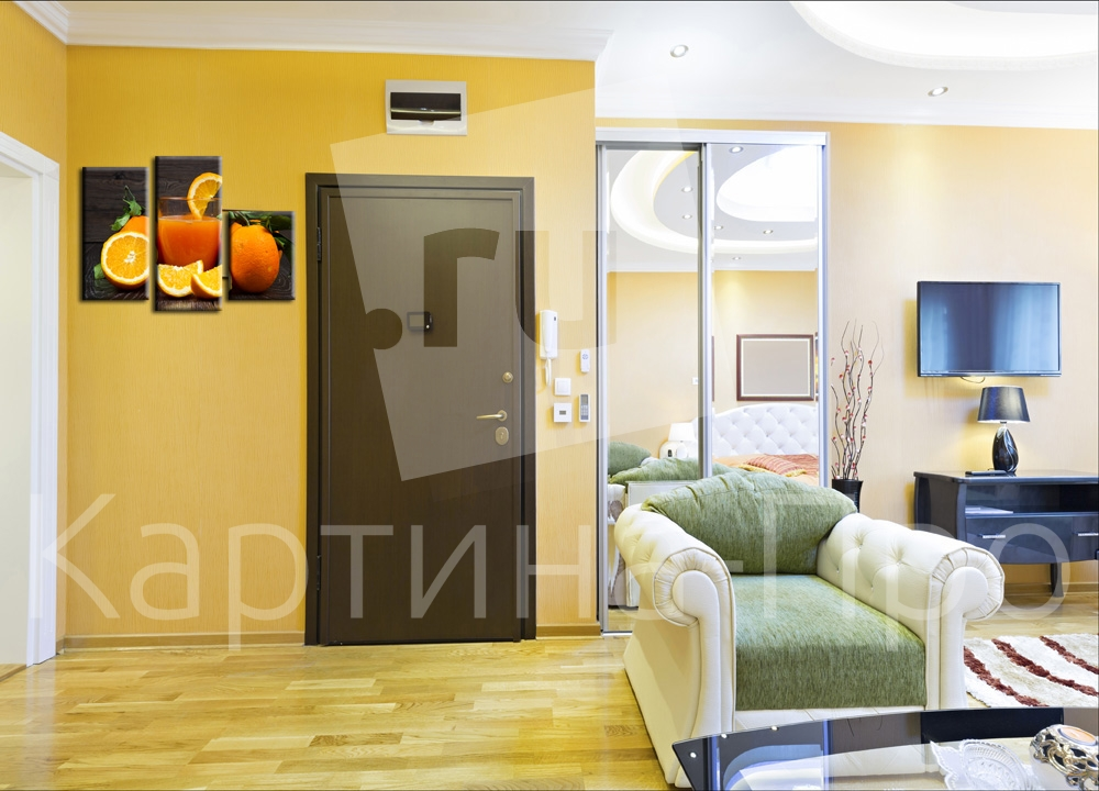 Модульная картина Апельсиновый рай от Kartina-Pro