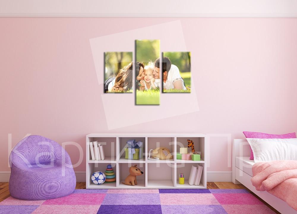 Модульная картина Семейная любовь от Kartina-Pro