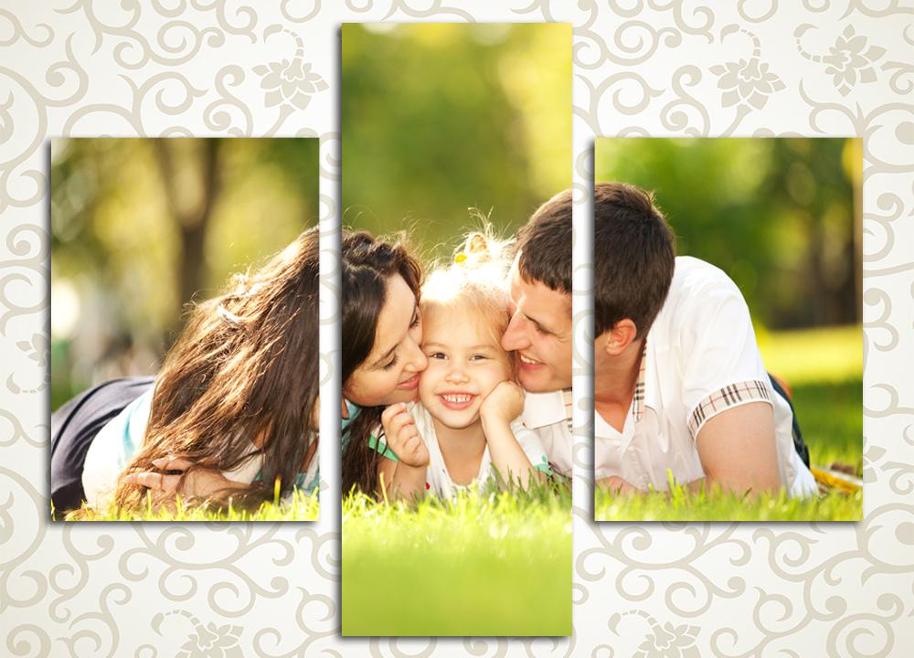 Модульная картина Семейная любовь
