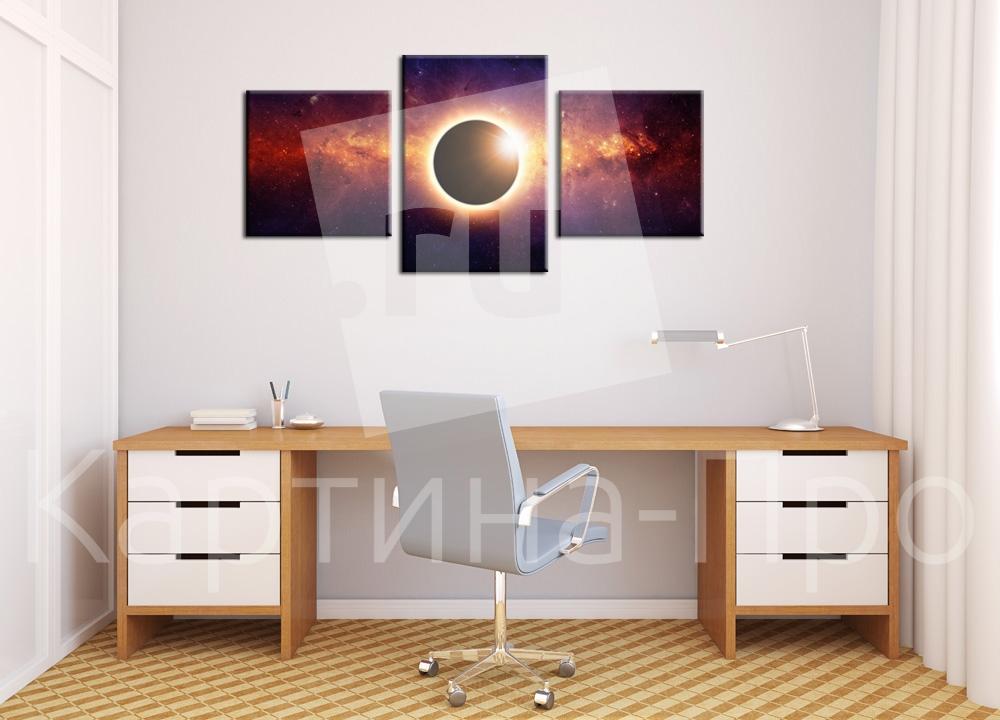 Модульная картина Черная дыра от Kartina-Pro