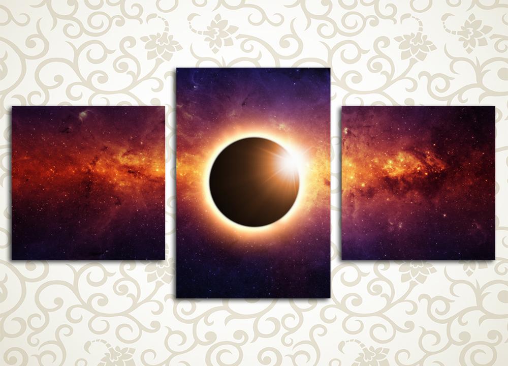 Модульная картина Черная дыра<br>