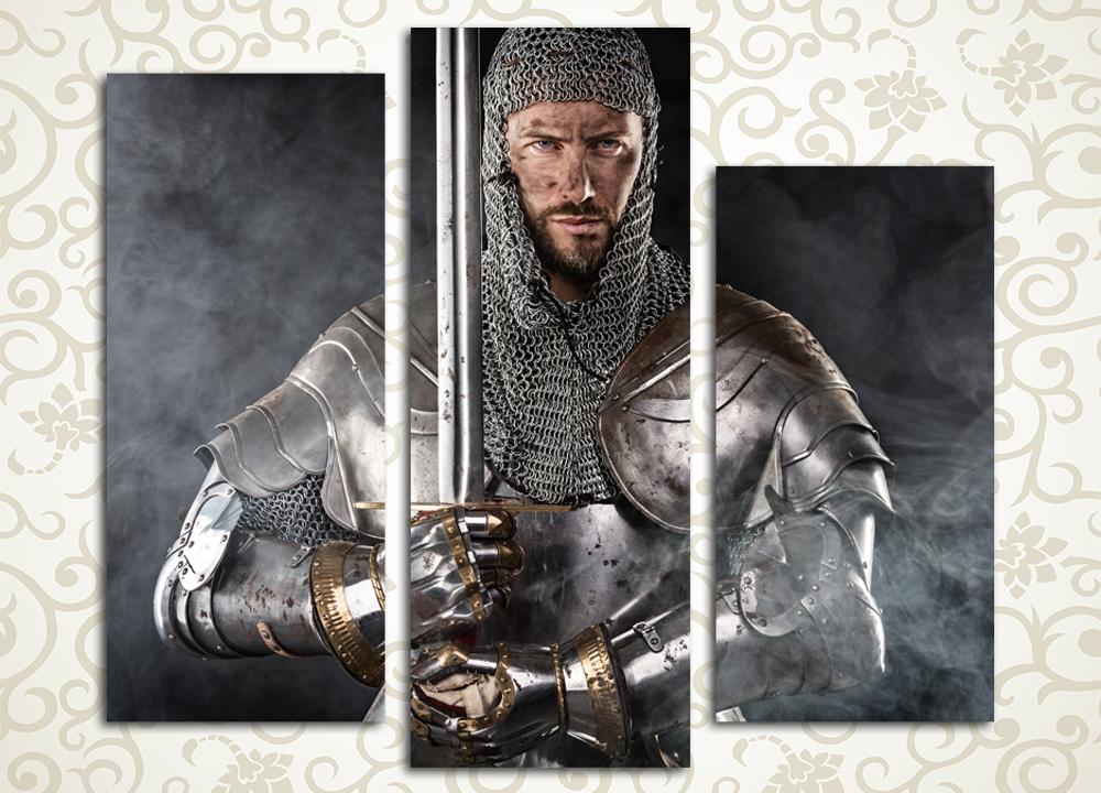 Модульная картина Рыцарь