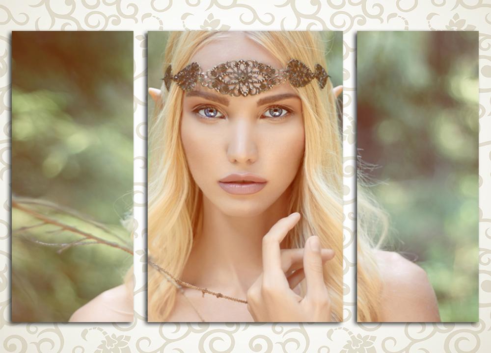 Модульная картина Эльфийская принцесса