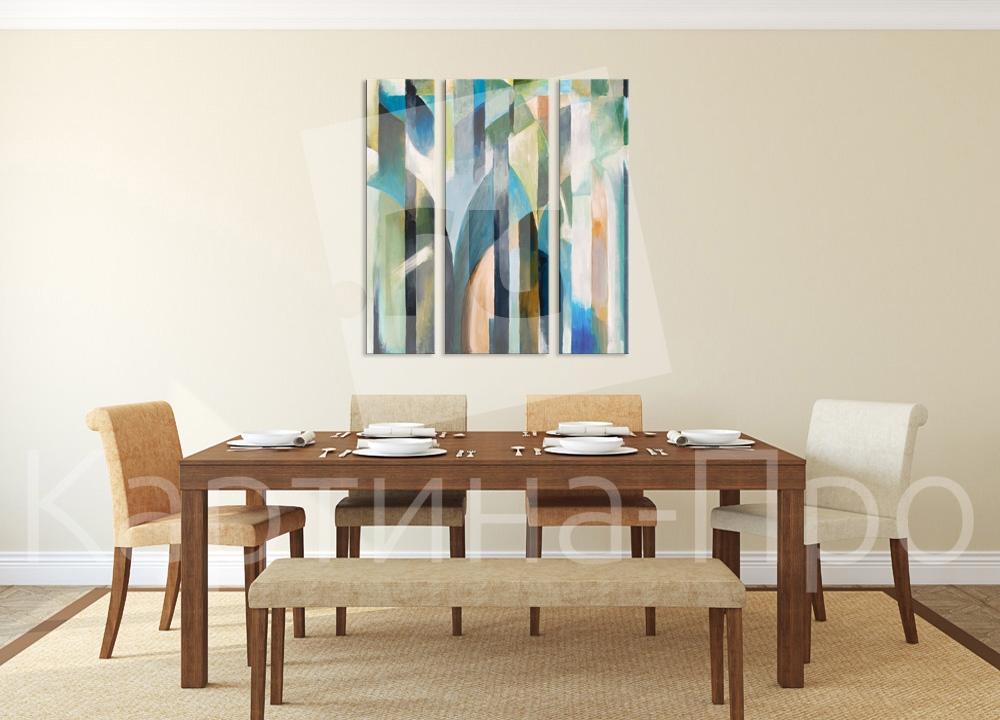 Модульная картина Абстрактная живопись от Kartina-Pro