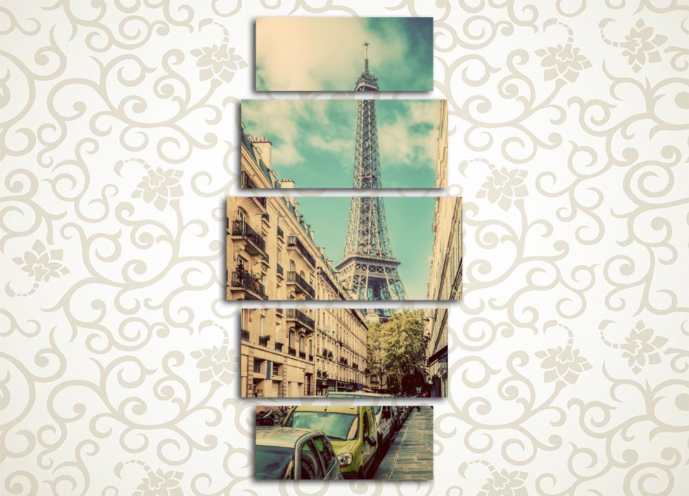 Модульная картина Дивная Франция