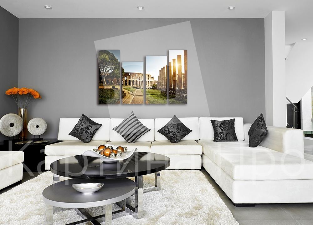 Модульная картина Колизей, Рим (Италия) от Kartina-Pro