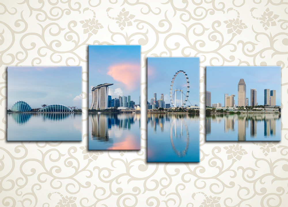 Модульная картина Сингапур