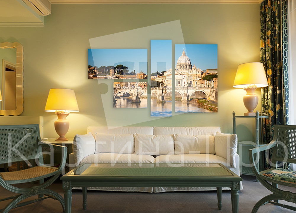 Модульная картина Собор Святого Петра, Ватикан от Kartina-Pro