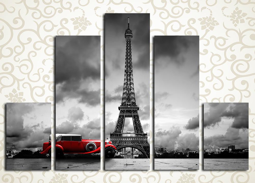 Модульная картина Экстравагантный Париж (Франция)