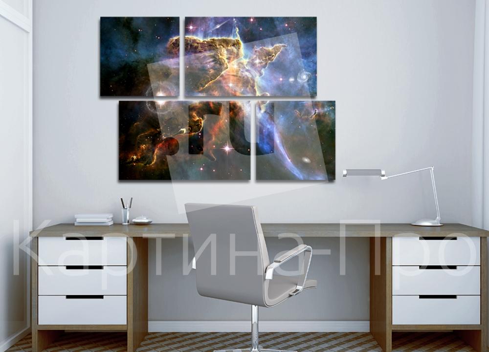 Модульная картина Звезды от Kartina-Pro