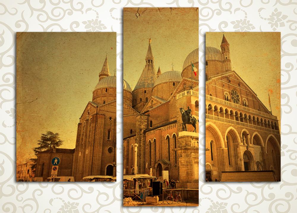 Модульная картина Церковь в Италии