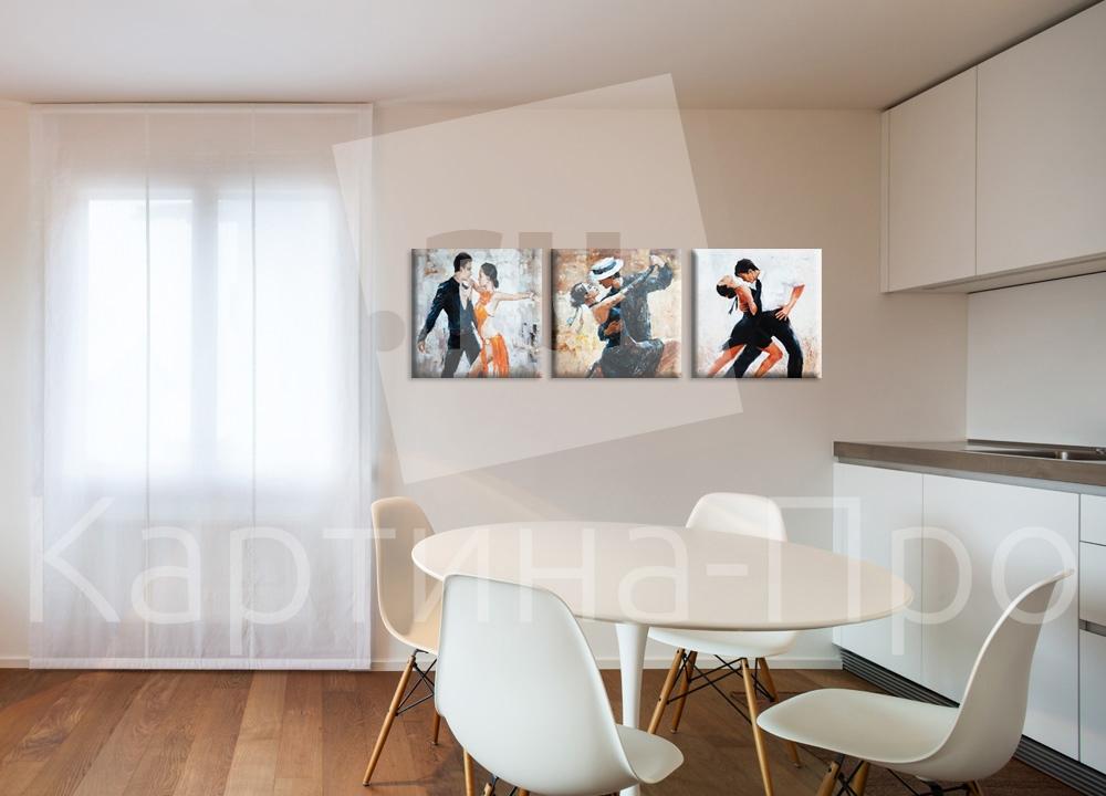 Модульная картина Страстное танго от Kartina-Pro