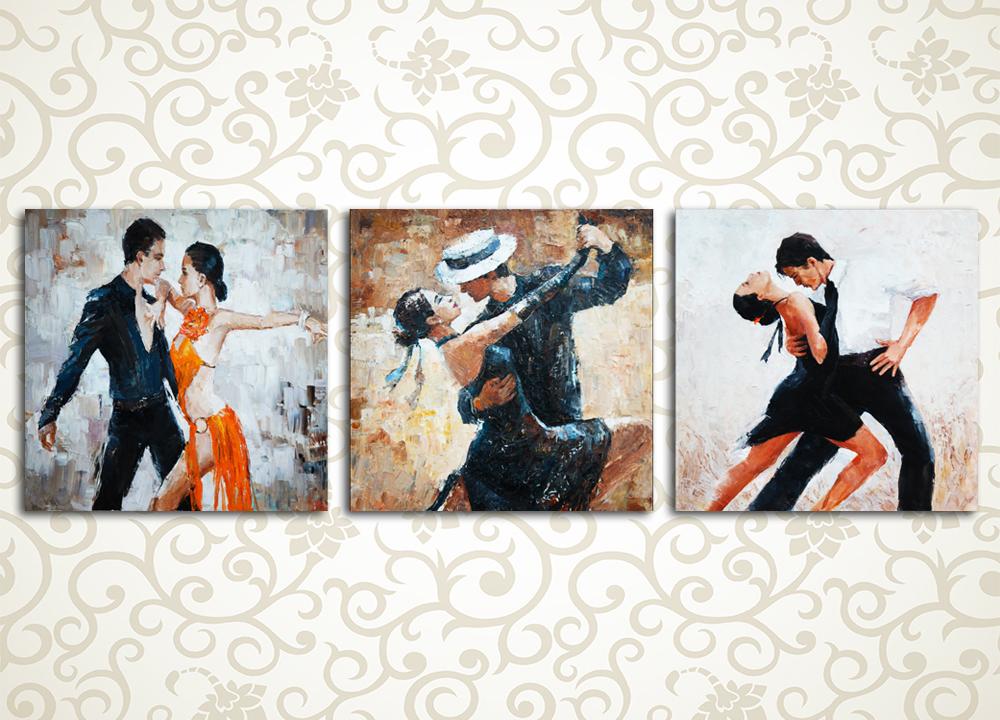 Модульная картина Страстное танго