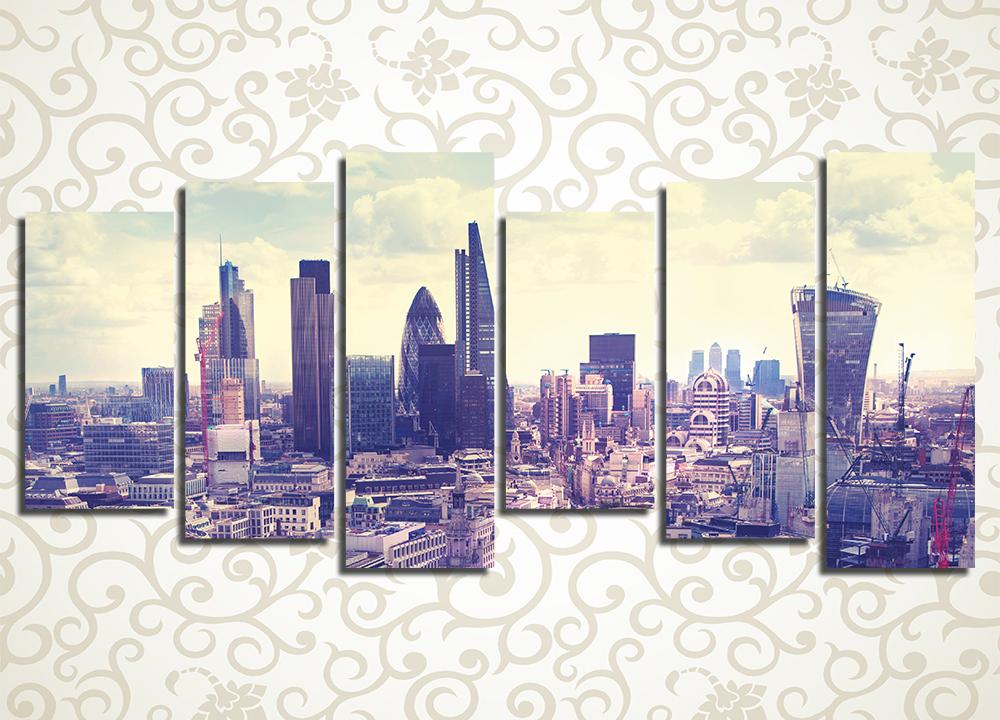 Модульная картина Лондон, Великобритания<br>