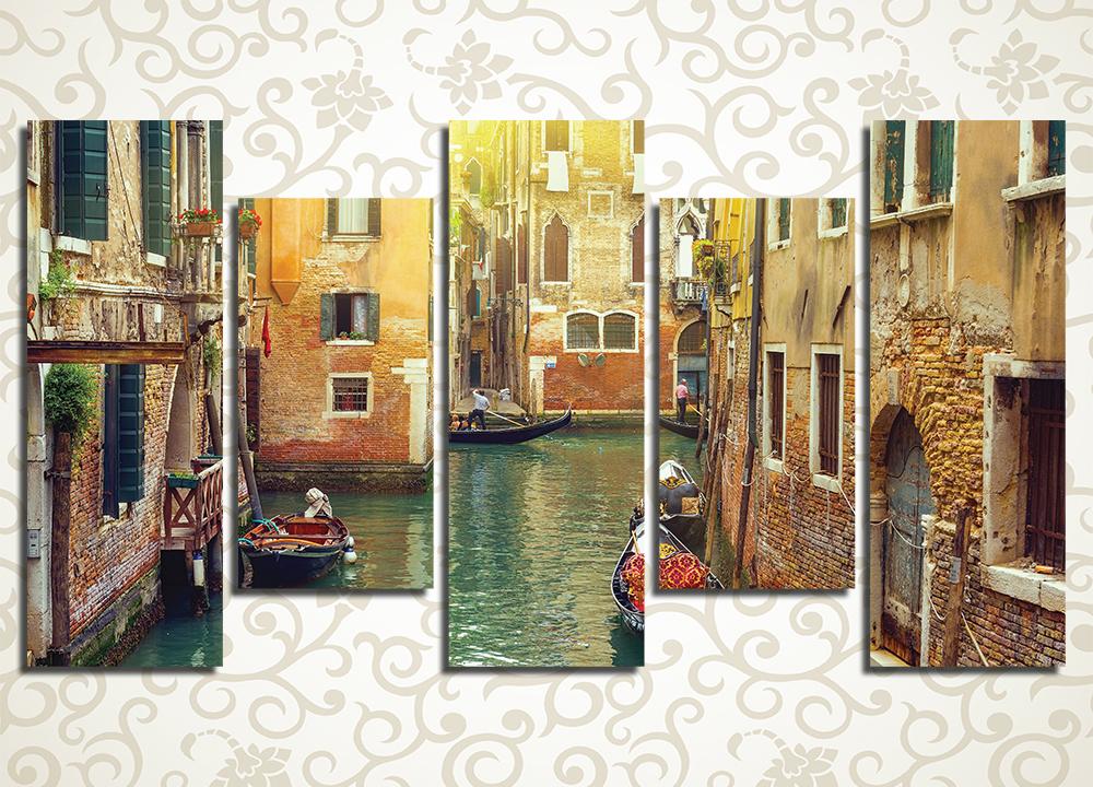 Модульная картина Солнечная Венеция (Италия)