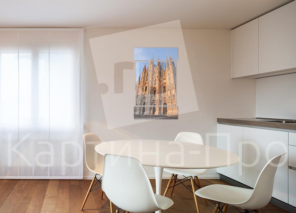 Модульная картина Миланский собор (Италия) от Kartina-Pro