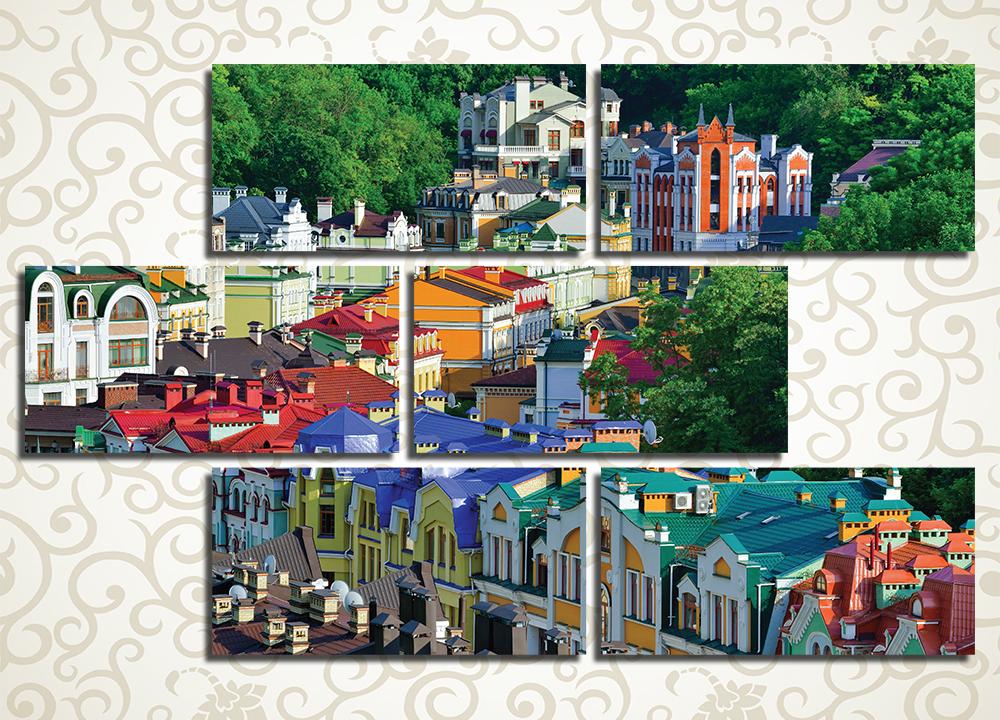 Модульная картина Киев. Старый город