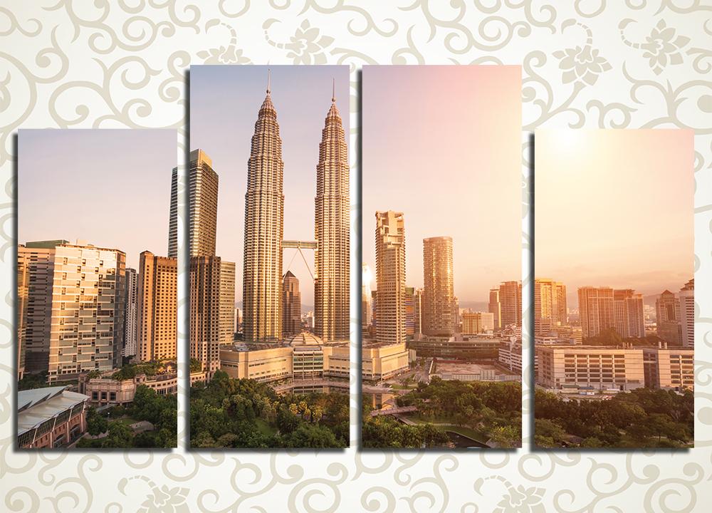 Модульная картина Куала-Лумпур (Малайзия)