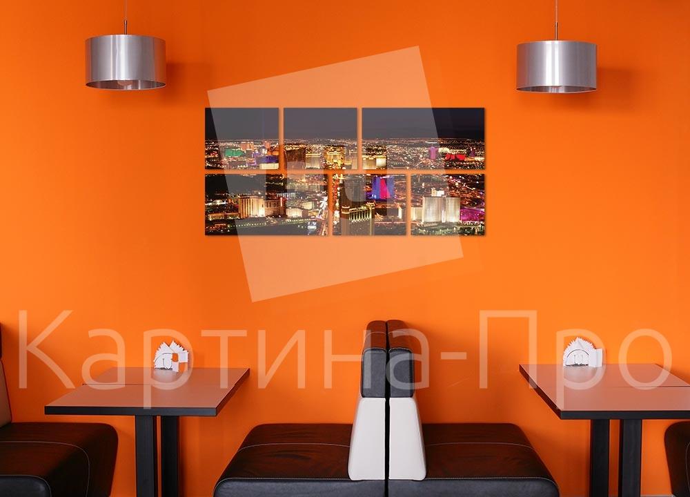 Модульная картина Лас-Вегас (США) от Kartina-Pro