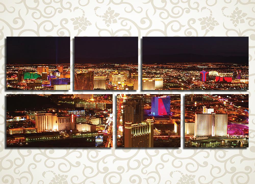 Модульная картина Лас-Вегас (США)
