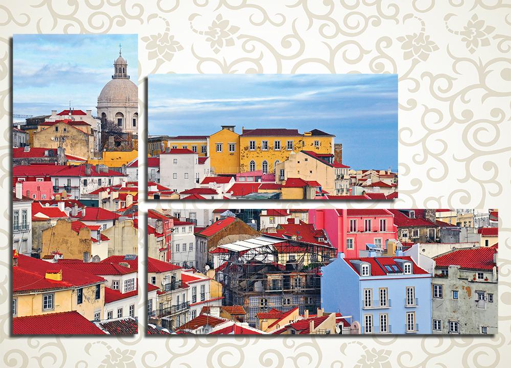 Модульная картина Лиссабон (Португалия)