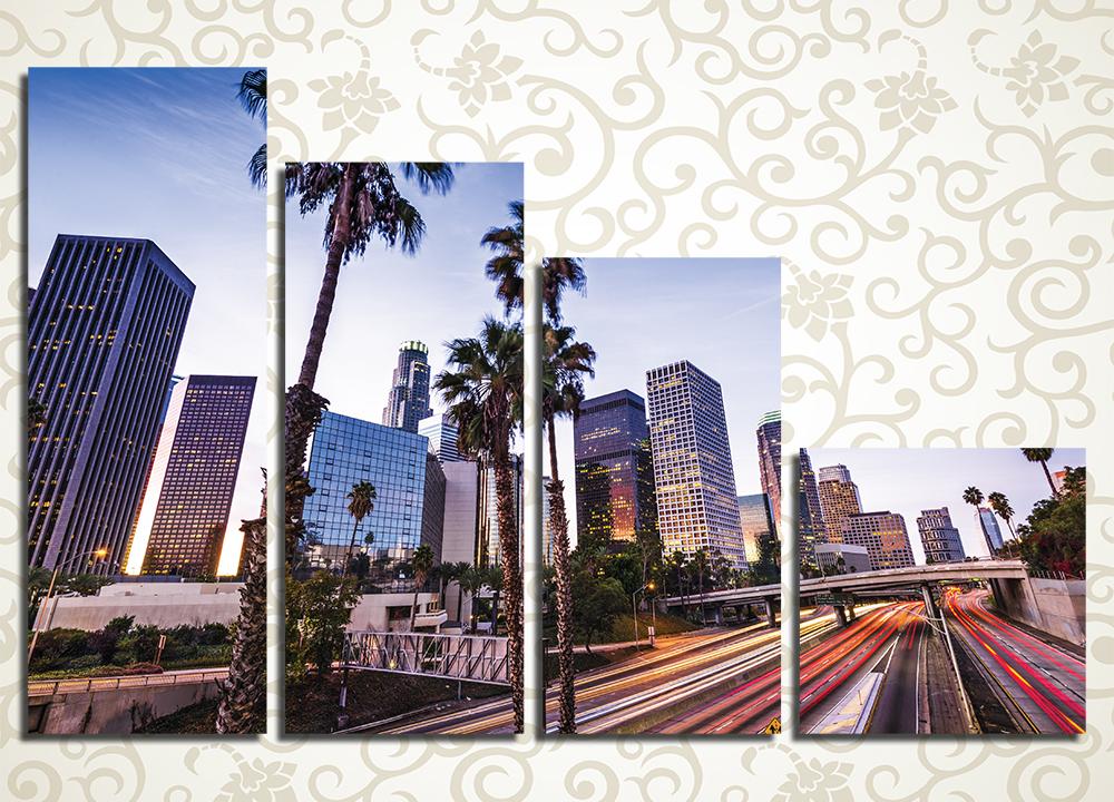 Модульная картина Лос-Анжелес (США)