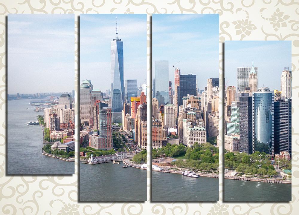 Модульная картина Манхеттен, Нью-Йорк (США)