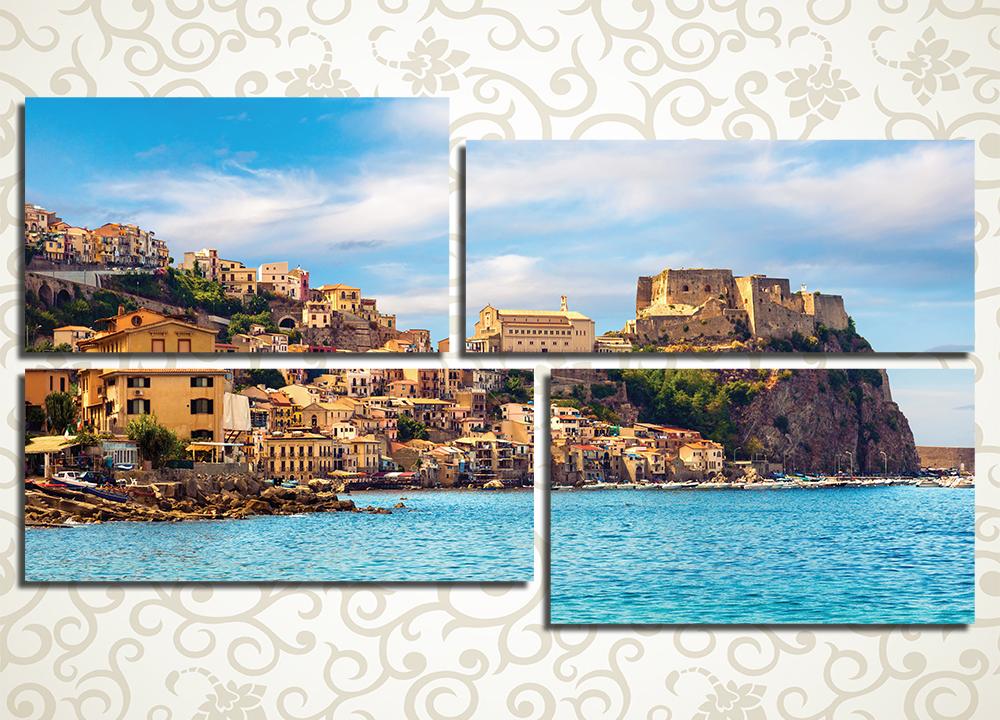 Модульная картина Сицилия (Италия)