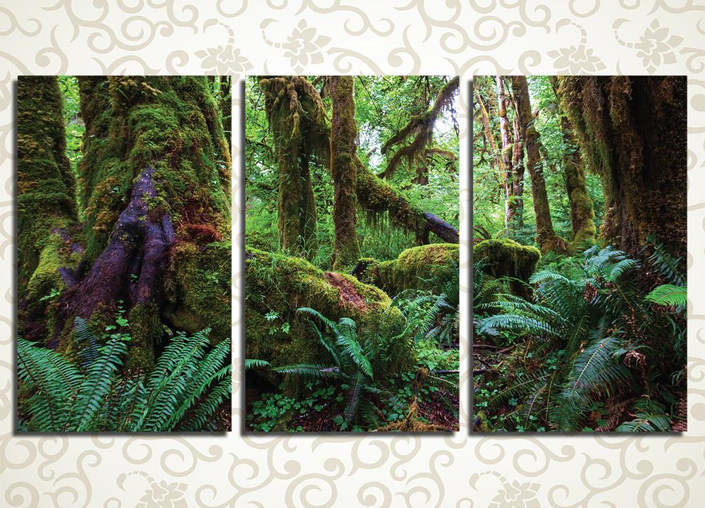 Модульная картина Гремучий лес