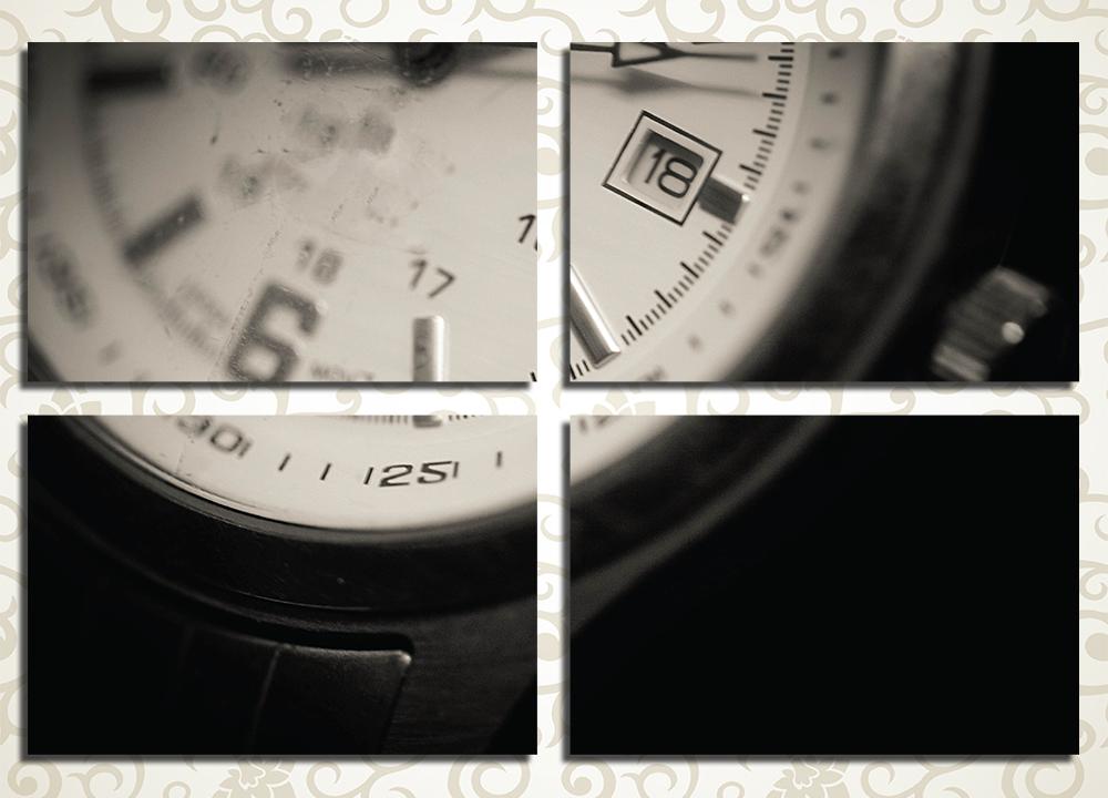 Модульная картина Наручные часы