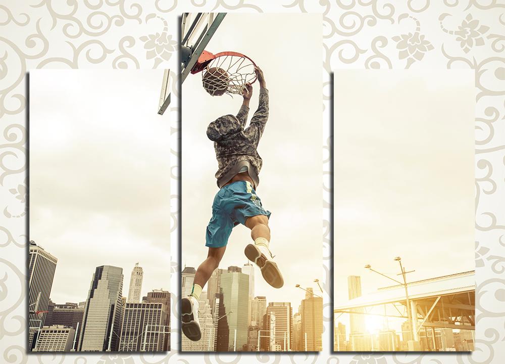 Модульная картина Баскетбол