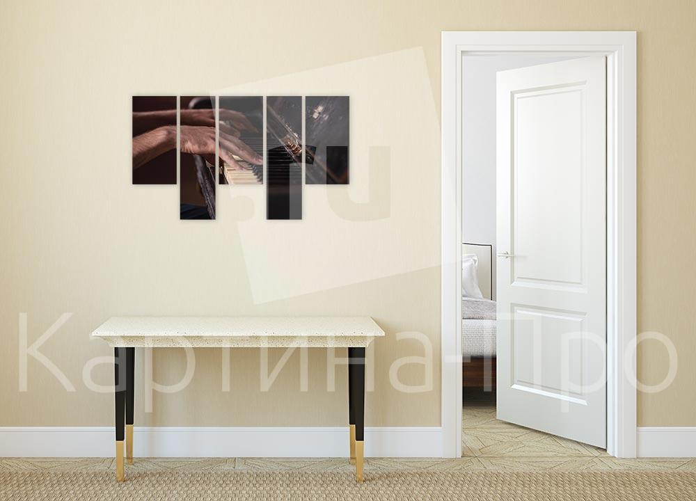 Модульная картина Пианист от Kartina-Pro