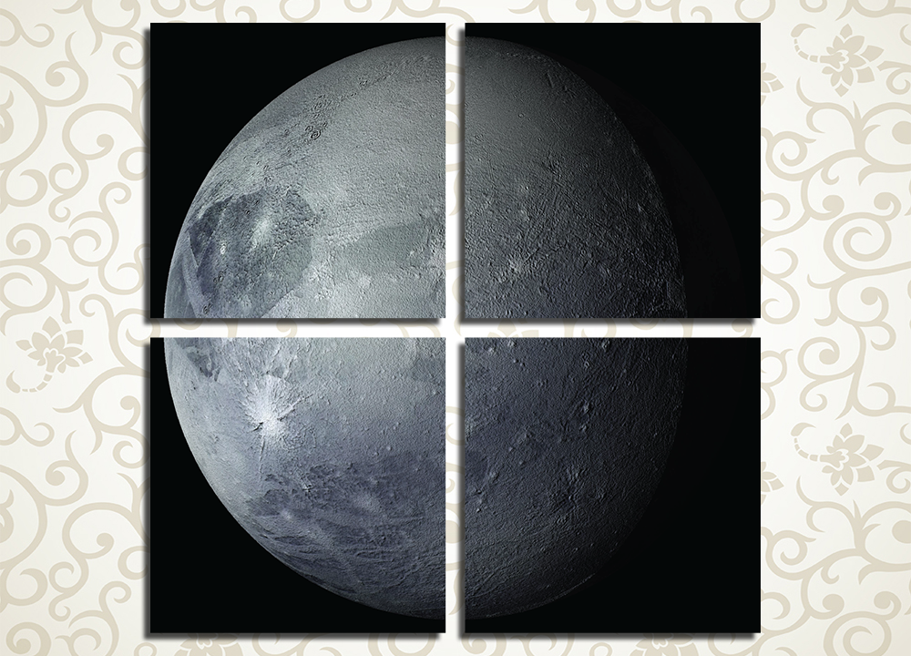 Модульная картина Плутон<br>