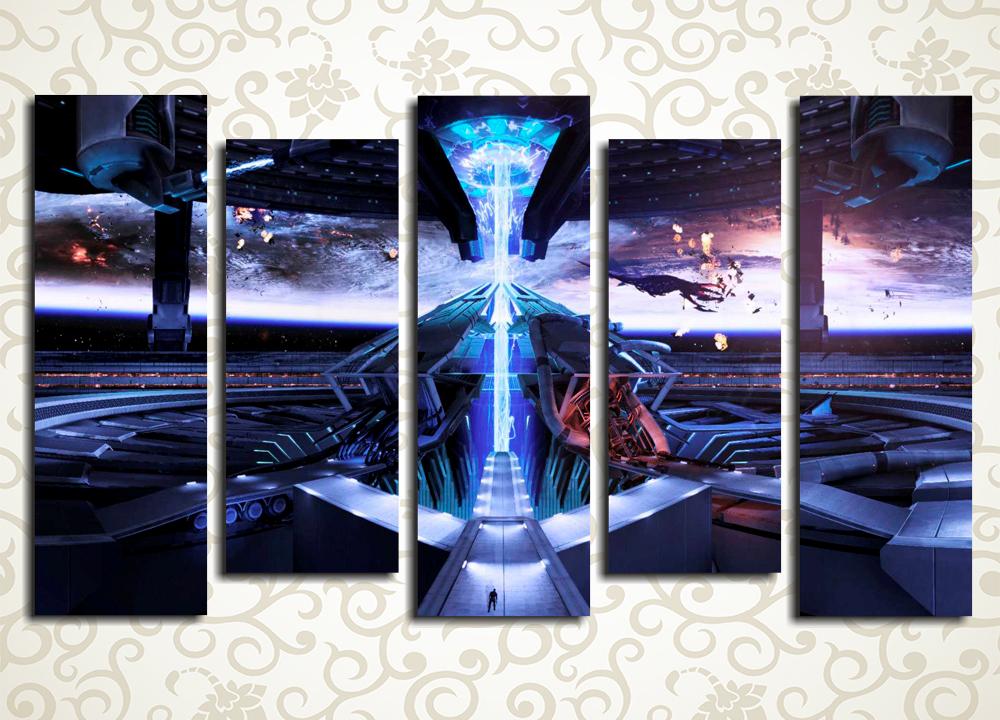 Модульная картина Mass Effect