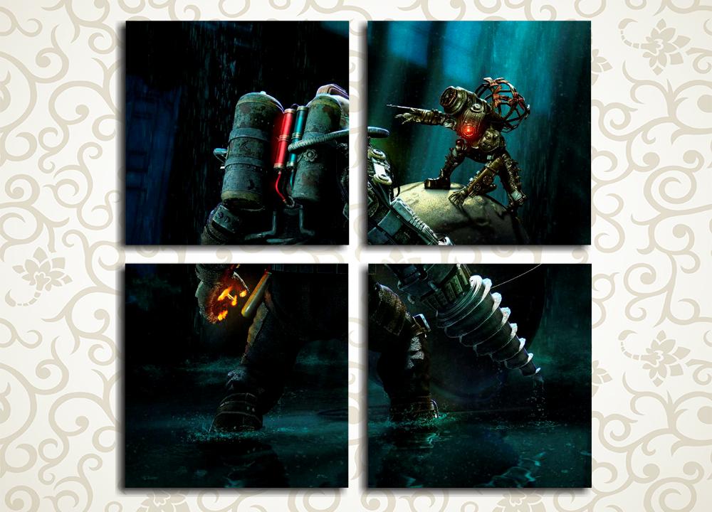 Модульная картина BioShock