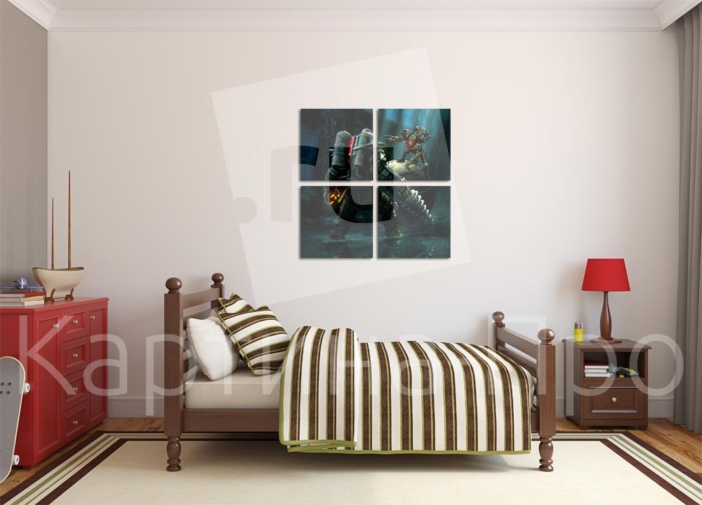 Модульная картина BioShock от Kartina-Pro