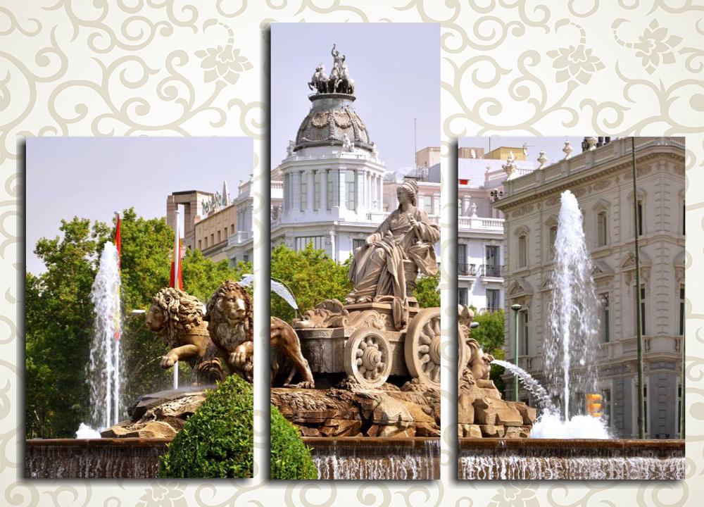 Модульная картина Мадрид, Испания